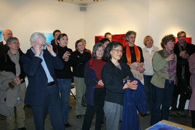 Vernissage, Wayne Boucher