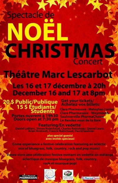 Spectacle de Noël 2011