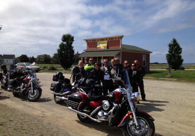 Acadian Shore Poker Run - PEI group 2013 - web
