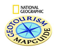 Geotourism map guide logo