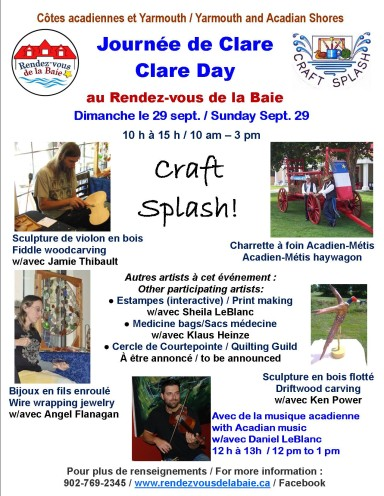 CRAFT SPLASH poster 2013