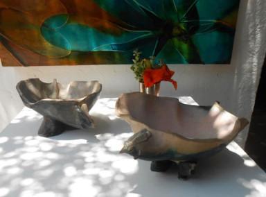 Claude Chaloux: bird bowls