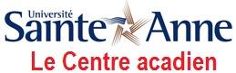 Le Centre acadien logo