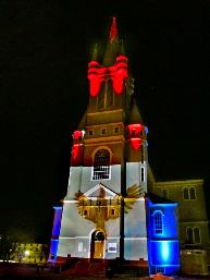 Eglise Sainte-Marie pendant Nocturne : le 22 mars