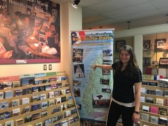Chantal Surette, gérante du centre d'information touristique, Rendez-vous de la Baie