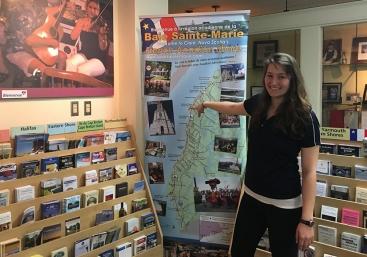 Chantal-Surette, gérante du centre d'information touristique, Rendez-vous de la Baie