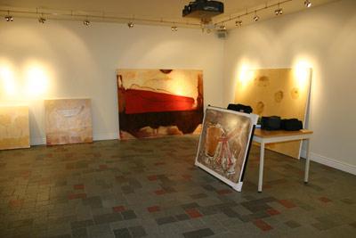 Montage exposition Lionel Cormier