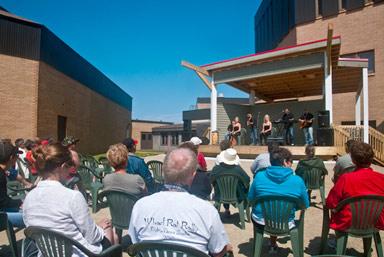 Spectacle du musique acadien en sept. 2011