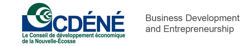 Le Conseil de développement économique de la Nouvelle-Écosse - Business Development & Entrepreneurship (BDE)